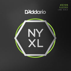 D'Addario NYXL45105 - Set Long Scale - Light Top / Med Bottom - 45-105