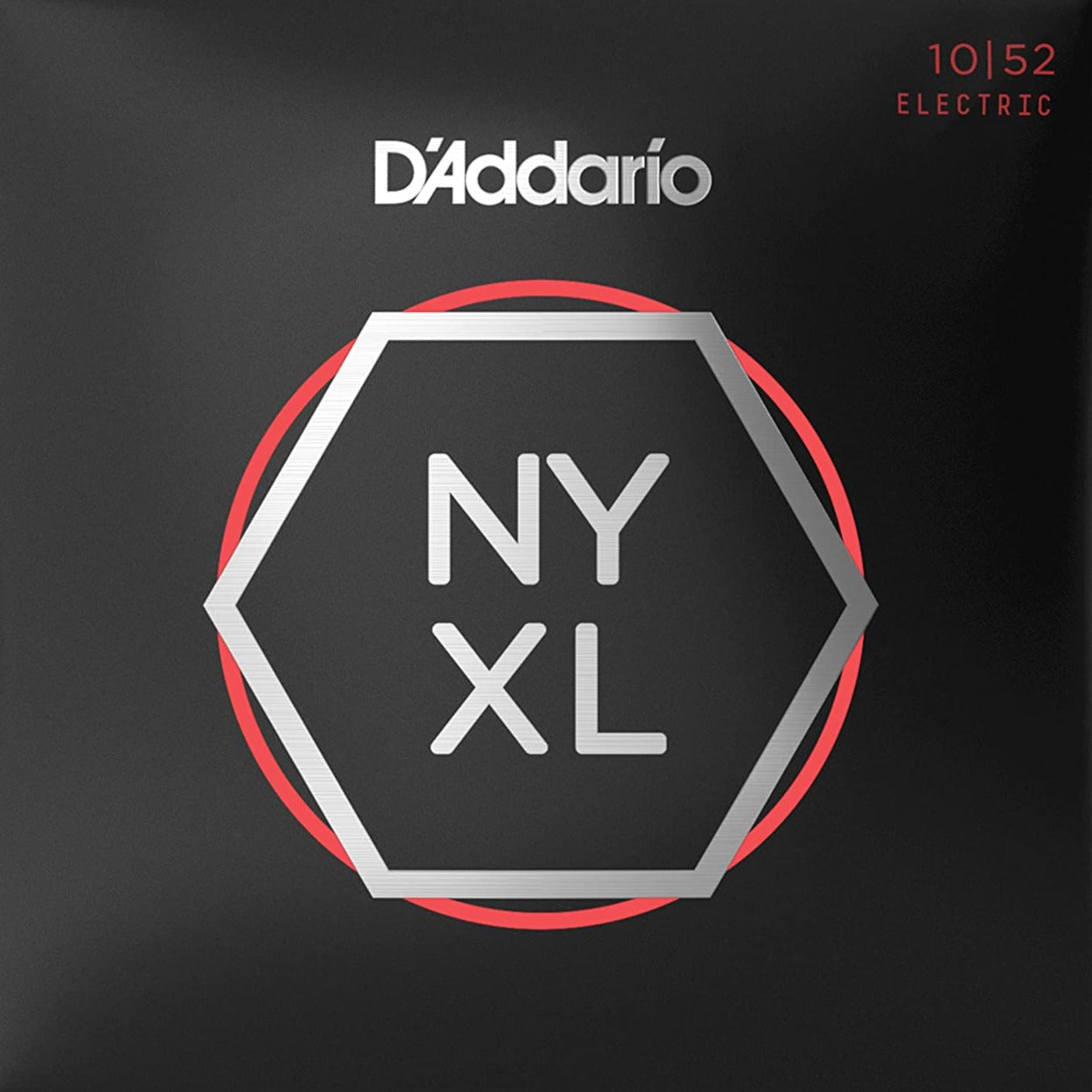 D'Addario NYXL1052 Electric Guitar Strings - Light Top / Heavy Bottom - 10-52