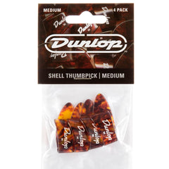 Jim Dunlop 9022P Shell Thumbpick Players Pack - 4 Pack - Medium