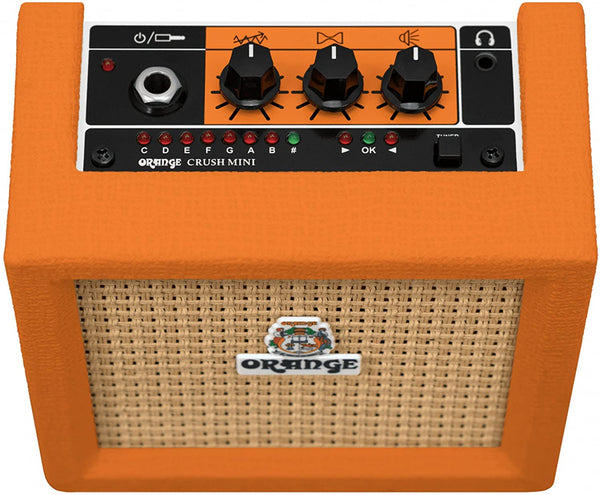 Orange Crush Mini Battery Powered Guitar Amp