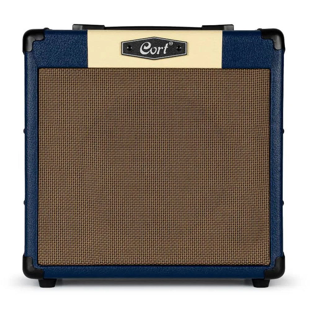Cort CM15R Electric Guitar Amp with Reverb - Dark Blue