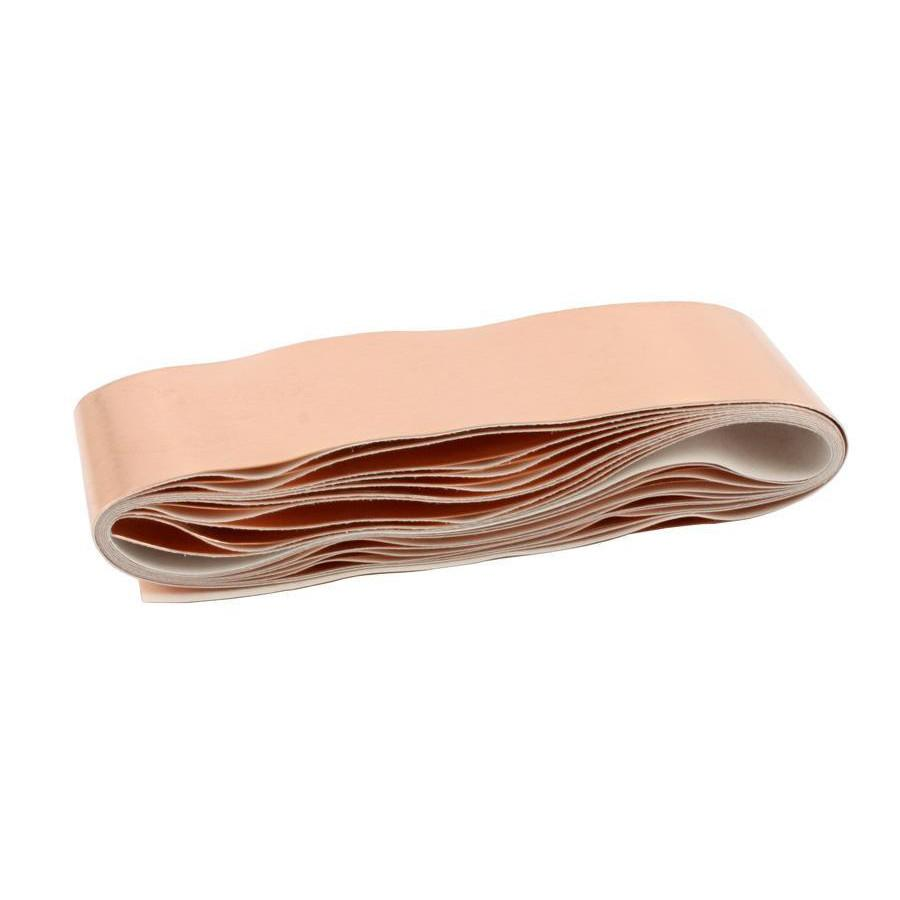 All Parts Shielding - copper tape - with conductive adhesive - 1 inch x 5 feet (25mm x 1.5m)