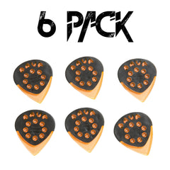 DAVA Control Orange Jazz Grip Gels - 6 Pack