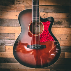 Tanglewood TW4E Winterleaf Folk Electro Acoustic Guitar - Whiskey Barrel Burst Gloss