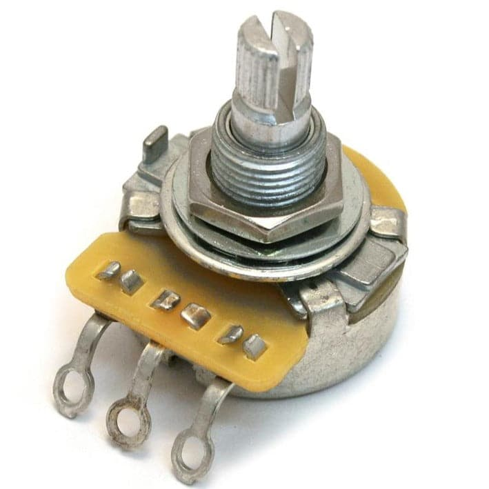 All Parts Potentiometer - 500K audio pot CTS split knurled shaft