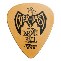 Ernie Ball .73mm Orange Everlast Picks 12 Pack