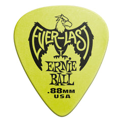 Ernie Ball .88mm Green Everlast Picks 12 Pack