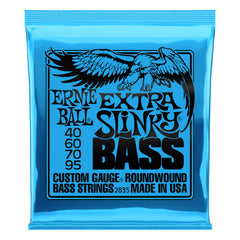 Ernie Ball Extra Slinky Bass Guitar Strings - 40-95