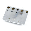 Fender HiMass 4-String Bass Bridge Assembly with Brass Saddles (0994408000)