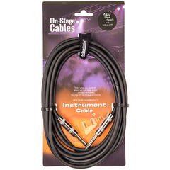 On-Stage Instrument Cable - 15ft/4.5m