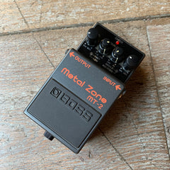 Boss Metal Zone MT-2 Distortion Pedal - Pre-Owned
