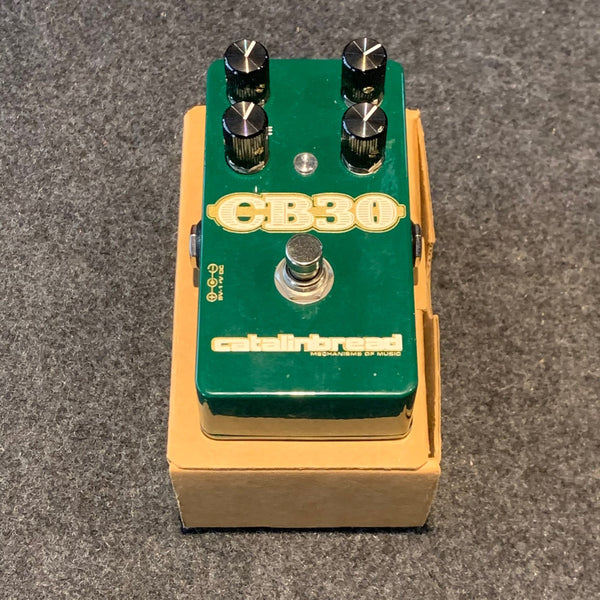 Catalinbread CB30 Vox Style Overdrive Guitar Effect Pedal - Pre Owned