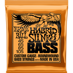 Ernie Ball Hybrid Slinky Bass Guitar Strings 45-105
