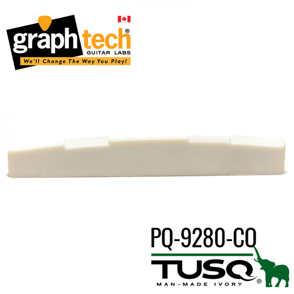 Graph Tech Tusq Acoustic Saddle - Compensated (PQ-9280-C0)