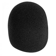 On-Stage Microphone Windscreen Foam - Black
