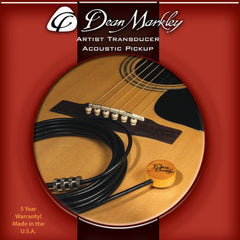 Dean Markley Acoustic Guitar Artist Transducer Pickup