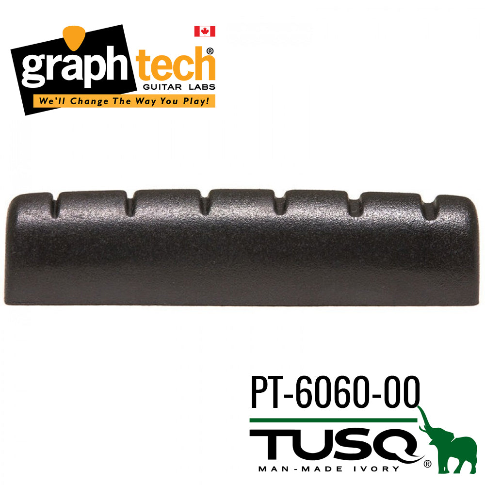 Graph Tech Black Tusq Nut for Epiphone - Slotted (PT-6060-00)