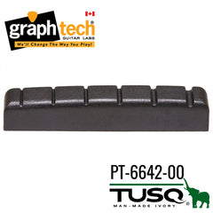 Graph Tech Black Tusq XL Nut Electric - Slotted (PT-6642-00) 42mm x 6mm