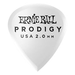 Ernie Ball 2.0mm White Mini Prodigy Picks 6-Pack