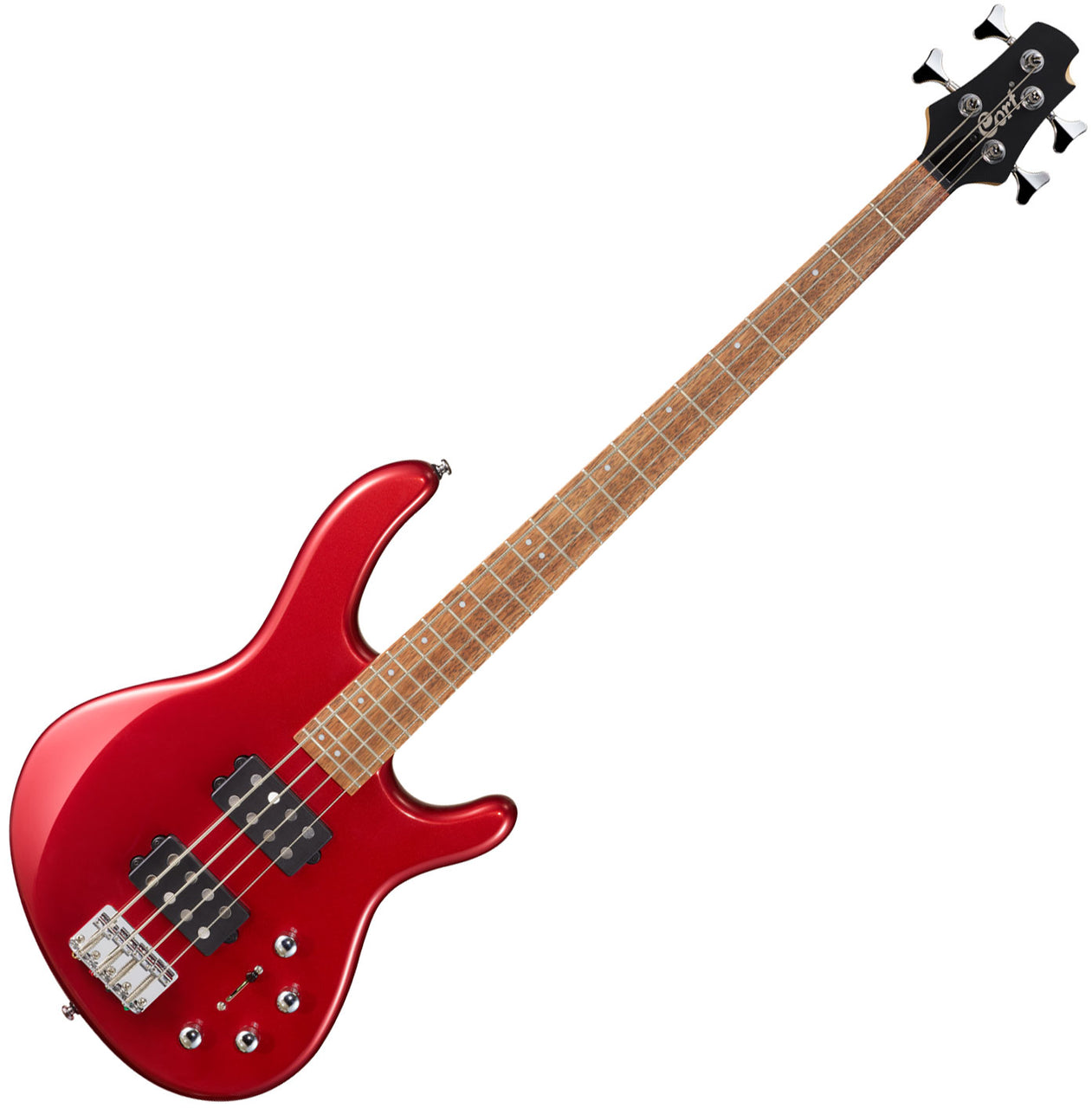 Cort Action Bass HH4 - Blood Red Metallic