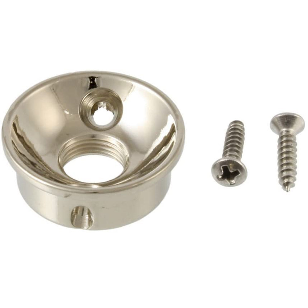 All Parts Retrofit Jackplate for Telecaster - Plated Brass - Chrome (AP-5270-010)
