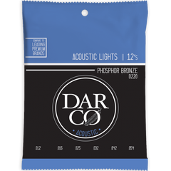 Darco by Martin D220 Phosphor Bronze Acoustic Guitar Strings - 12-54