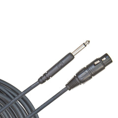 "D'Addario Classic Microphone Cable 25foot (7.5meter) XLR to 1/4"" Jack"
