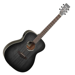 Tanglewood TWBBOE Blackbird Folk Guitar - Smokestack Black Satin - Electro Acoustic
