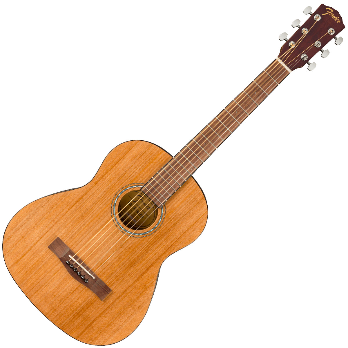 Fender FA-15 Steel 3/4 Size Acoustic Guitar with Gig Bag