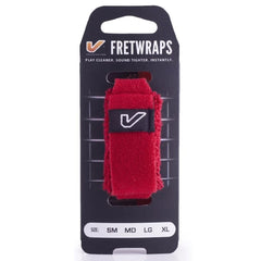 Gruv Gear FretWrap String Muter - Small for 6 String Guitar - Red