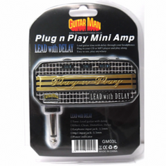 Guitar Man GM03L Plug N Play Headphone Battery Amp Lead - Electric