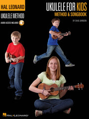 Hal Leonard Ukulele Method and Songbook: Ukulele for Kids + Audio