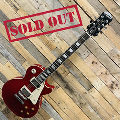 Epiphone Les Paul Standard in Red with Hiscox Hard Case - Pre Owned