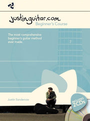 The JustinGuitar.com Beginners Course Book & 2 CD's