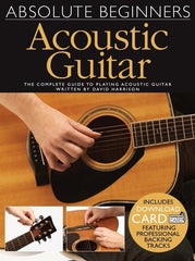 Absolute Beginners: Acoustic Guitar (Book/Audio Download)