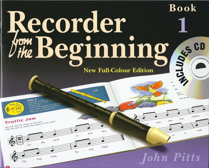 Recorder From The Beginning : Pupil's Book/CD 1