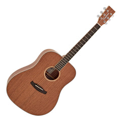 Tanglewood Union Dreadnought Acoustic Guitar - Solid Mahogany - Open Pour Natural