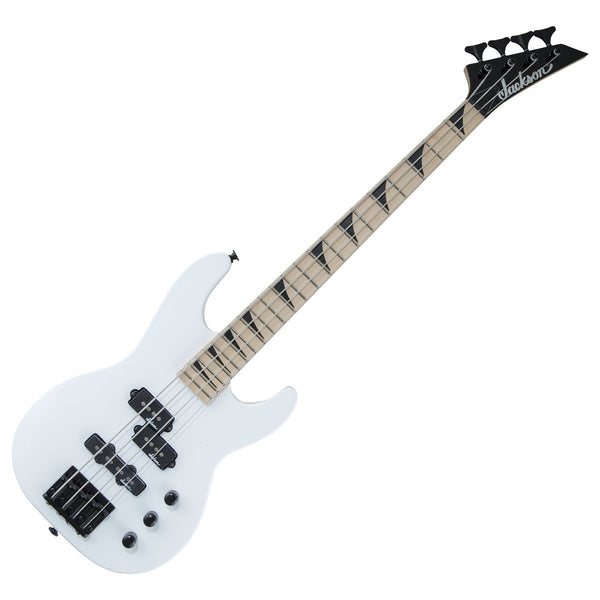 Jackson JS1X JS Series Concert Bass Minion - Short Scale - Snow White