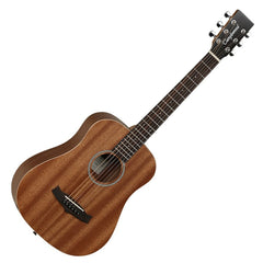 Tanglewood TW2-T Winterleaf Travel Acoustic Guitar - Mahogany with Gig Bag