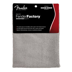 Fender Genuine Factory MicroFibre Cloth - Nitro Safe