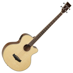 Tanglewood TW8 Winterleaf Electro Acoustic Bass Guitar - Natural