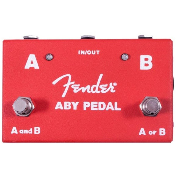 Fender ABY Stereo Amplifier Footswitch Pedal