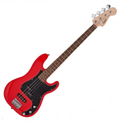 Squier Affinity PJ Bass Guitar - Racing Red