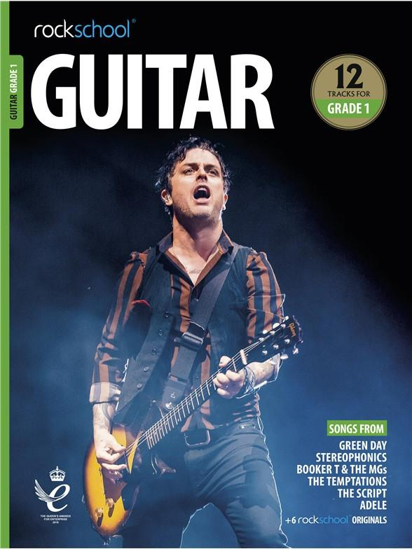 Rockschool Guitar Grade 1 Exam Book (2018)