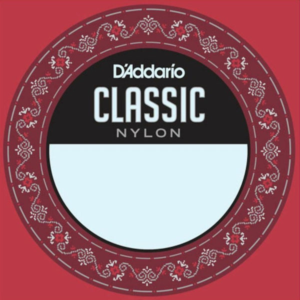 D'Addario J2704 Single Nylon Classical Guitar String - 4th D
