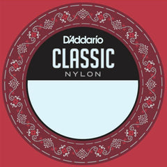 D'Addario J2701 Single Nylon Classical Guitar String - 1st High E