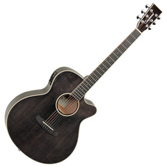 Tanglewood TW4E Winterleaf Super Folk Electro Acoustic Guitar - Black Shadow