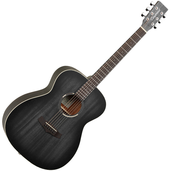 Tanglewood TWBB-O Blackbird Folk Acoustic Guitar - Smokestack Black