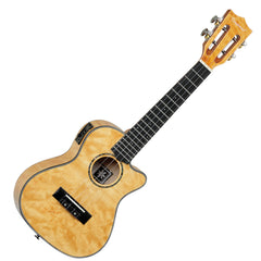 Tanglewood TWT29-E Tiare Concert Cutaway Electro Ukulele - Tennessee Honey Gloss