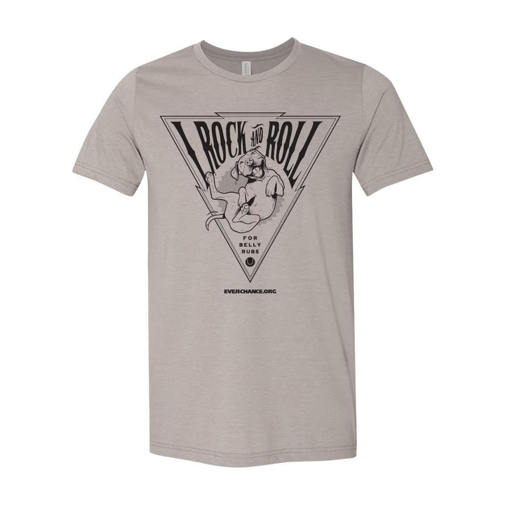 I Rock & Roll T-Shirt - Triangle Design
